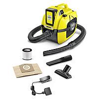 Пылесос для сухой и влажной уборки Karcher WD 1 Compact Battery Set