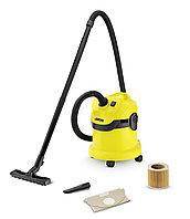 Пылесос для сухой и влажной уборки Karcher WD 2 Filter Kit