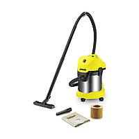 Пылесос для сухой и влажной уборки Karcher WD 3 Premium