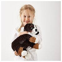 ХОППИГ Мягкая игрушка, собака, бернская овчарка белый, фото 1