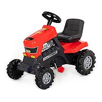 Трактор- каталка Turbo красный