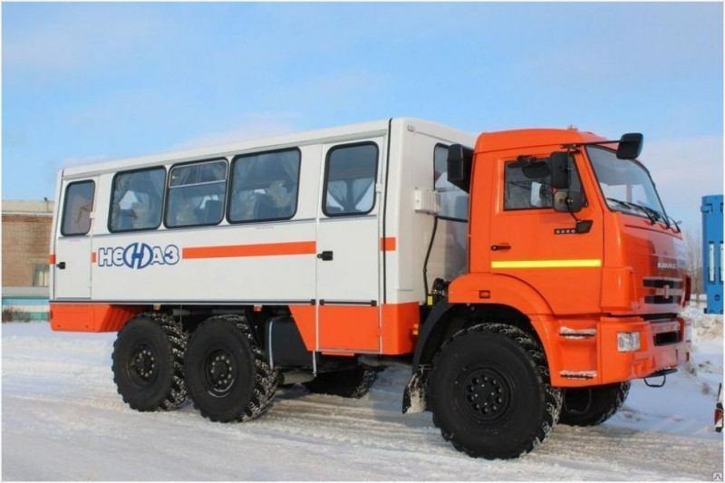Вахтовый автобус Камаз 66066-1110-А4
