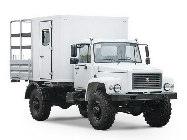 Вахтовый автобус Газ-33088