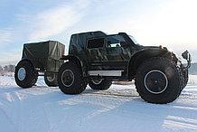Грузопассажирский снегоболотоход