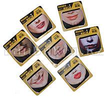 Многоразовая двухслойная маска респиратор с защитой от холода и пыли в ассортименте (женские лица)