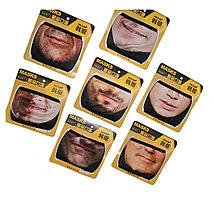 Многоразовая двухслойная маска респиратор с защитой от холода и пыли в ассортименте (мужские лица)