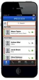 iPECS UCS для мобильных клиентов (Mobile Client)