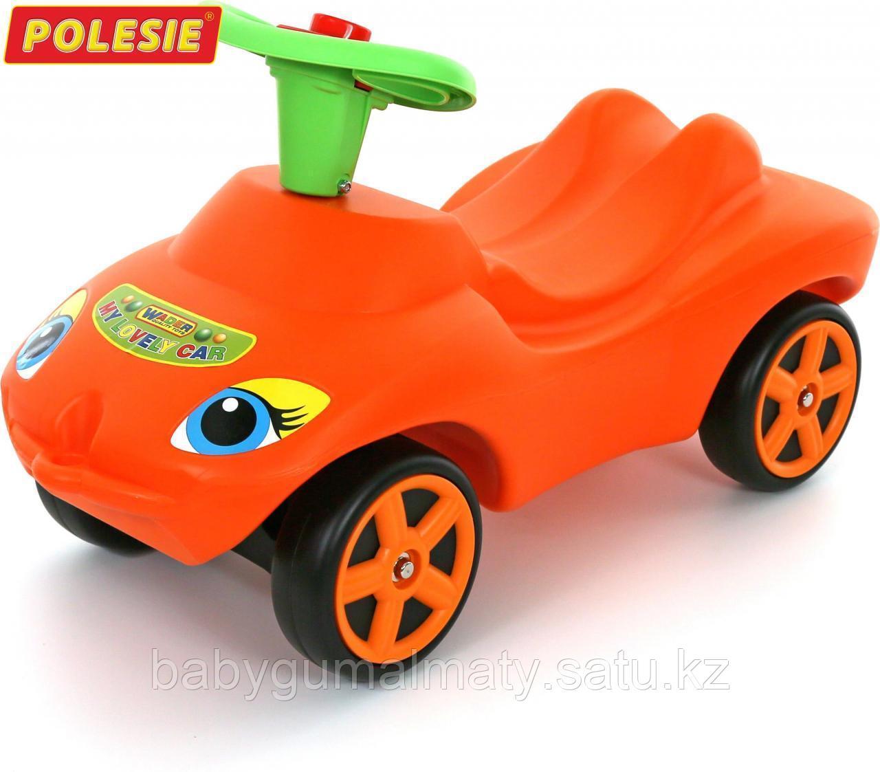 """Машинка каталка """"Мой любимый автомобиль"""" со звуковым сигналом - фото 1"""