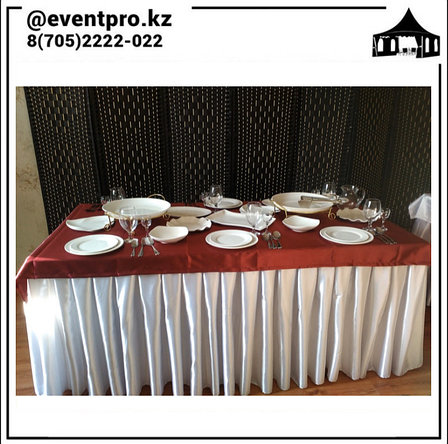 Скатерти на столы в Аренду, фото 2