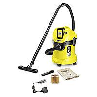 Пылесос для сухой и влажной уборки Karcher WD 3 Battery Set