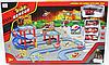 Детская пожарная парковка WW 3 машины и 1 вкртолет