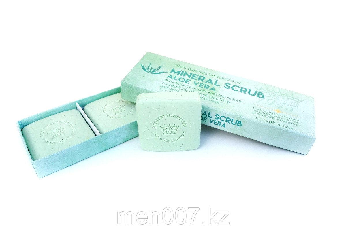 Mineral Scrub Aloe Vera Saponifico Varesino Италия  (мыло - скраб)