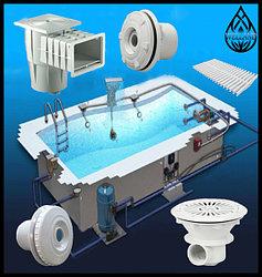 Закладное оборудование для бассейна