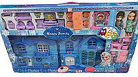 Детский игрушечный домик замок для кукол Холодное сердце