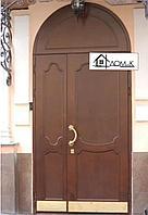 Дверь входная с фальшбортом