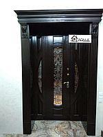 Дверь входная облогороженная