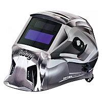 Маска сварочная Optima Team 9.13 Silver, регулируемый фильтр FUBAG 38076
