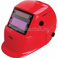 Маска сварочная Optima 9.13 Red, регулируемый фильтр FUBAG 38073