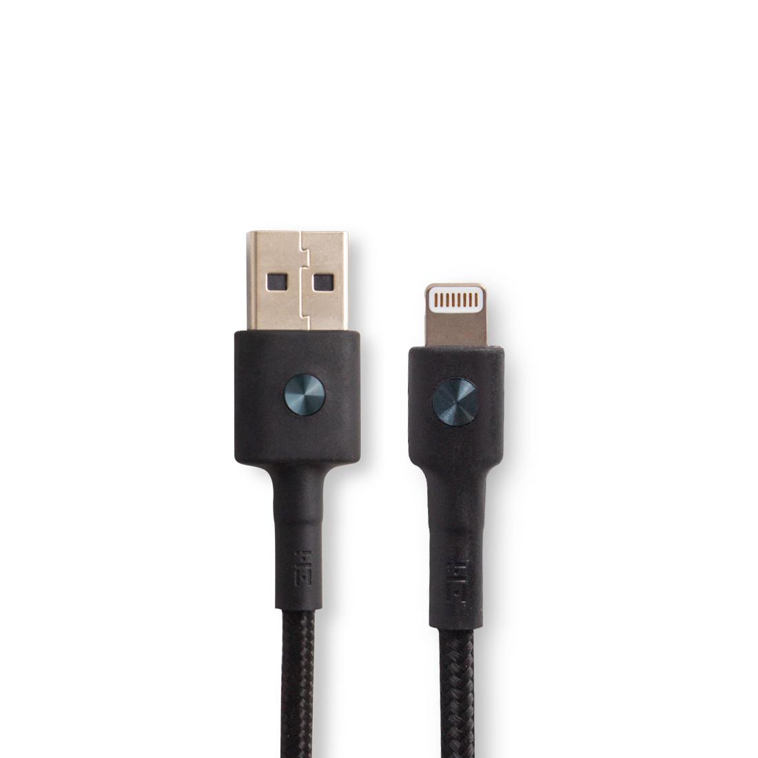 Интерфейсный Кабель USB/Lightning Xiaomi ZMI AL803/AL805 MFi 1м (чёрный)