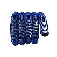Шланг газоотводный 75 мм х 15 м, синий NORDBERG H076B15
