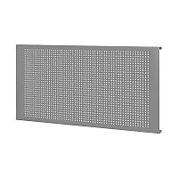 Панель перфорированная для верстака 100 см, серая, 1 шт FERRUM 07.010-9007