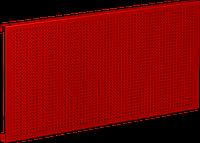 Панель перфорированная для верстака 100 см, красная, 1 шт FERRUM 07.010S-3000