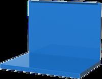 Полка/стенка для бестумбового и двухтумбового верстака, синяя FERRUM 01.500-5015