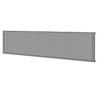 Панель перфорированная для верстака 190 см, серая, 1 шт FERRUM 07.019-9007
