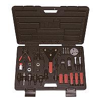 Набор для обслуживания компрессора кондиционера, кейс, 37 предмета МАСТАК 105-30037C