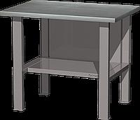 Верстак слесарный, бестумбовый, оцинкованная столешница, серый FERRUM 01.001G-7035