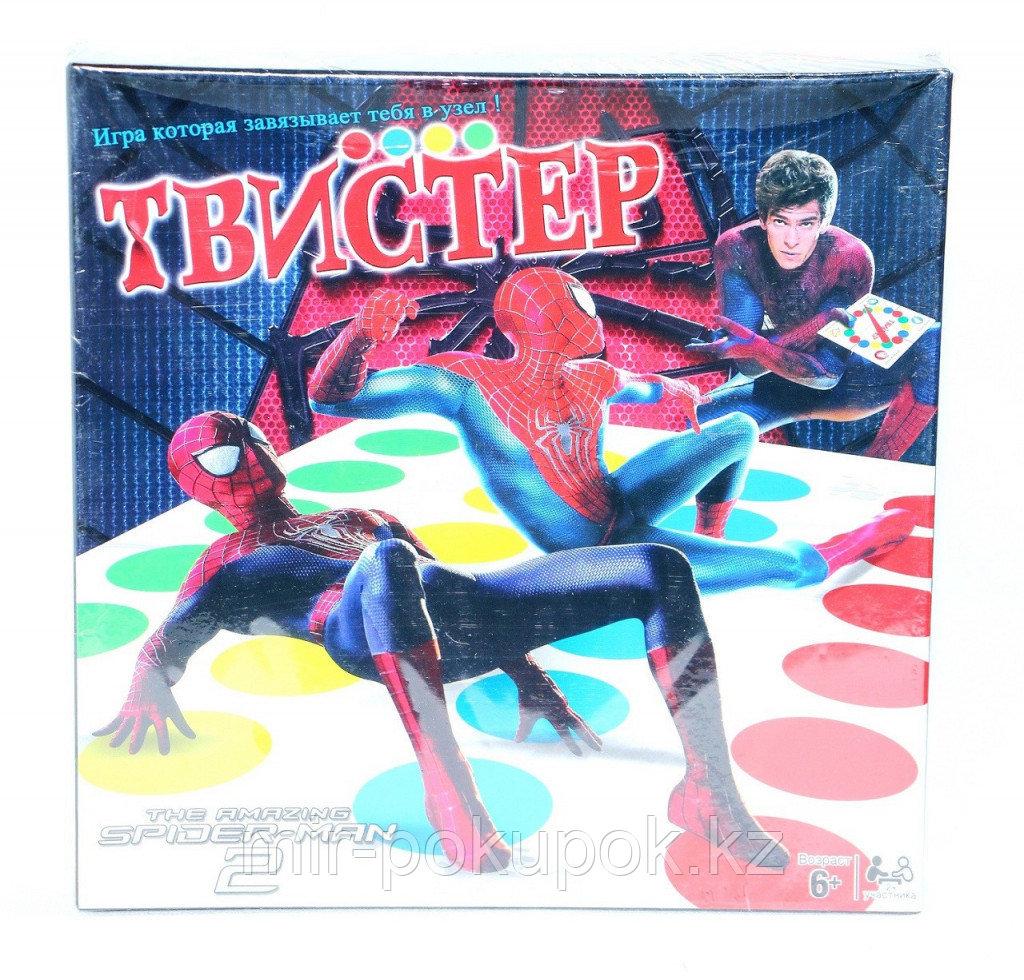 Напольная игра подвижная игра Твистер Человек-паук