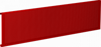 Панель перфорированная для верстака 190 см, красная, 1 шт FERRUM 07.019-3000