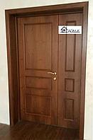 Дверь металлическая с отделкой МДФ