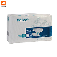 Подгузники для взрослых DAILEE Супер M дыш. 30 шт