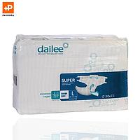 Подгузники для взрослых DAILEE Супер L дыш. 30 шт