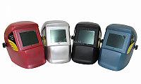 Щиток сварщика пластиковый WH 4000 Mega, красный KRASS 2961001