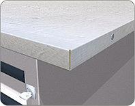 Столешница оцинкованная для двухтумбового верстака FERRUM 01.319G