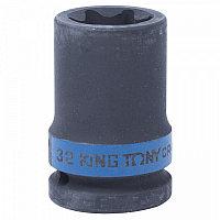 "Головка торцевая ударная TORX Е-стандарт 3/4"", E32, L = 56 мм KING TONY 657532M"