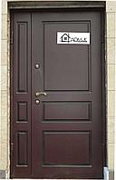 Дверь металлическая на заказ отделка МДФ