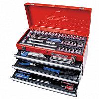 Набор инструментов универсальный, выдвижной ящик, 73 предмета KING TONY 901-073MR
