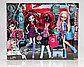 Набор из 3 кукол Монстры в Лондоне - Элизабет, Кэти Нуар и Вайперин, Школа Монстер Хай, фото 2