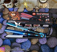 """Стайлер для волос 2 в 1 """"Sonar"""". Материал: Пластик/Керамика. Цвет: Синий/Черный. Мощность: 60Вт."""