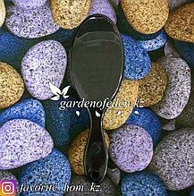 Расческа-щетка для волос. Материал: Пластик. Цвет: Черный/Синий.