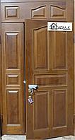 Входные двери железные с МДФ отделкой