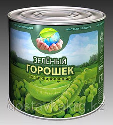 Зеленый горошек «Чистый продукт» 425 мл
