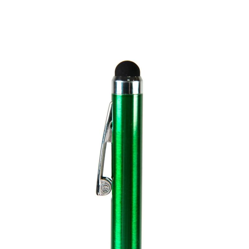 Ручка шариковая со стилусом CLICKER TOUCH, Зеленый, -, 36001 15 - фото 2