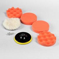 Набор кругов для полировки кузова TORSO, 125 мм, 7 предметов