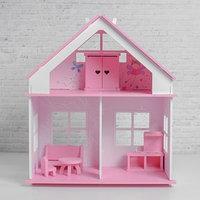 Кукольный дом 'Суфле' с обоями и набором мебели