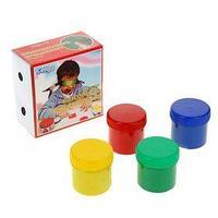 Краски пальчиковые сенсорные, набор 4 цвета по 100 мл 'Экспоприбор' (комплект из 2 шт.)