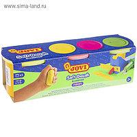 Мягкая паста для лепки на растительной основе 3 цвета по 110 г JOVI NEON, для малышей